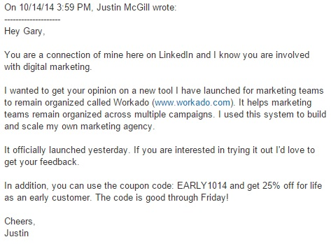 LinkedIn-Launch-Message