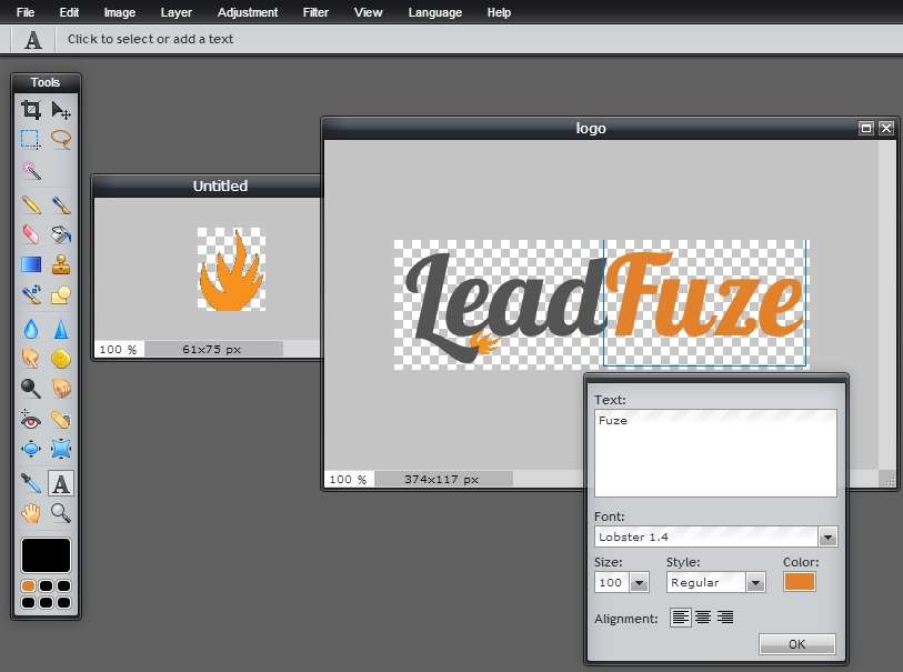 LeadFuze - logo