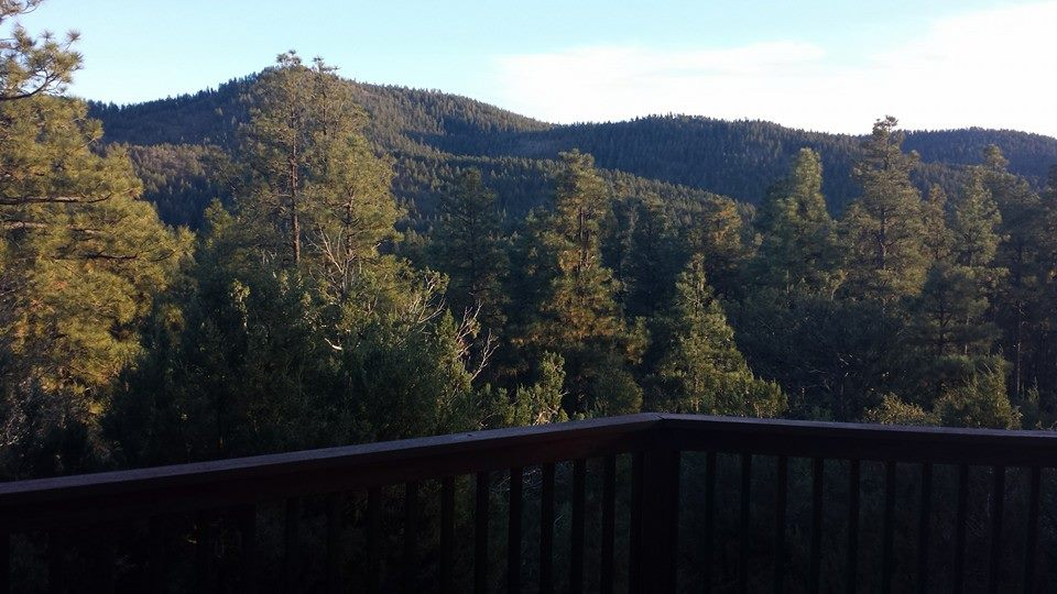 View from cabin in Prescott